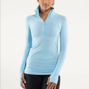 Lululemon swiftly tech quarter zip pullover sz 6